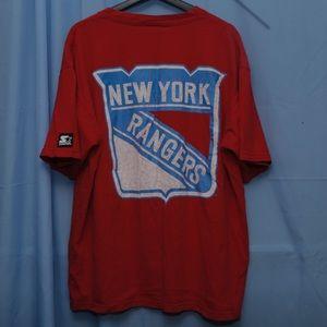 VTG New York Rangers Starter Shirt